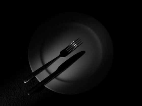 Contender number one: fork and knife.
