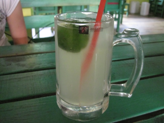 Freshly-pressed lime juice on a balmy Kunming evening: the closest you can get to Burma this side of the border.