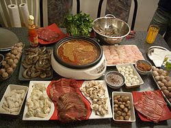 Hot pot is a traditional Sichuan meal that is famous worldwide.