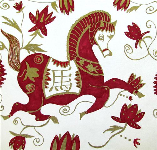beautiful-chinese-new-year-horse-pictures-to-print-2